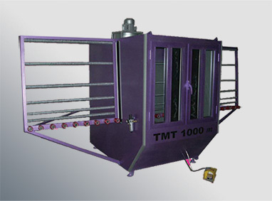 TMT 1000M Manual Sand Blasting Machines For Glass