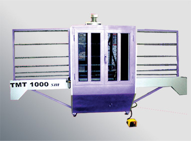 TMT 1000SM Manual Sand Blasting Machines For Glass